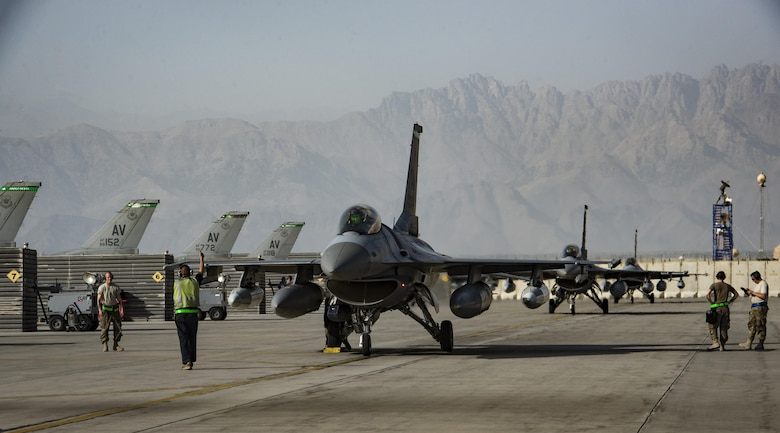 Bagram adds additional F-16s