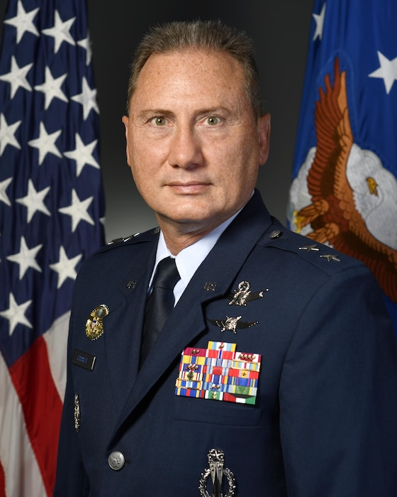 Official portrait -  Maj Gen. Clinton E. Crosier