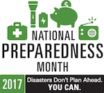 Current events make September 2017 particularly relevant as National Preparedness Month begins