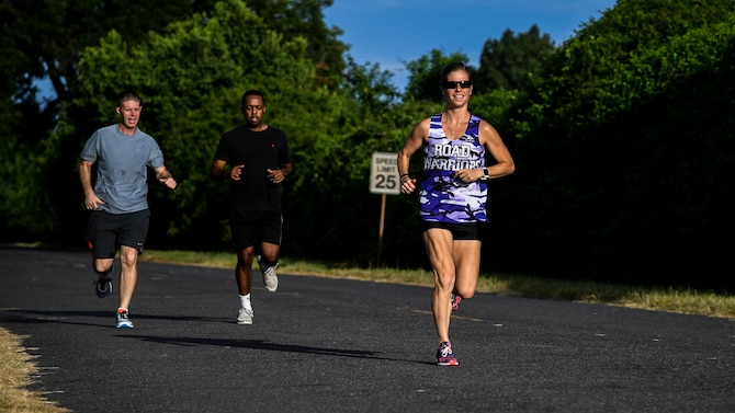 Airmen to represent AFGSC at Air Force Marathon