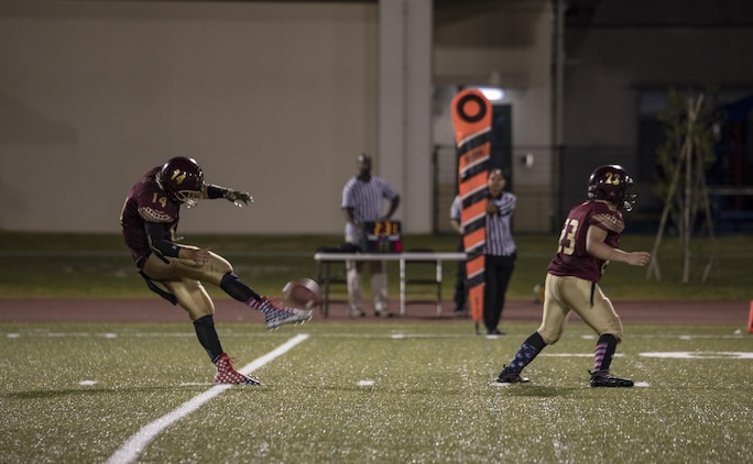Samurai kick off first football game under Friday Night Lights
