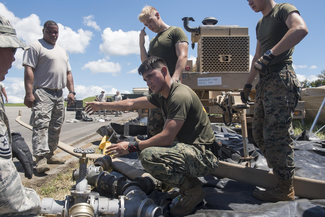 Tropic ACE fuels joint cooperation between Air Force, Marines