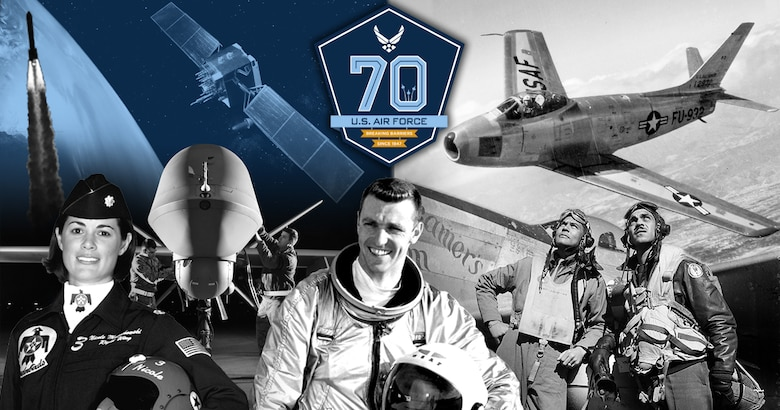 The United States Air Force observes its 70th birthday this year 2017.