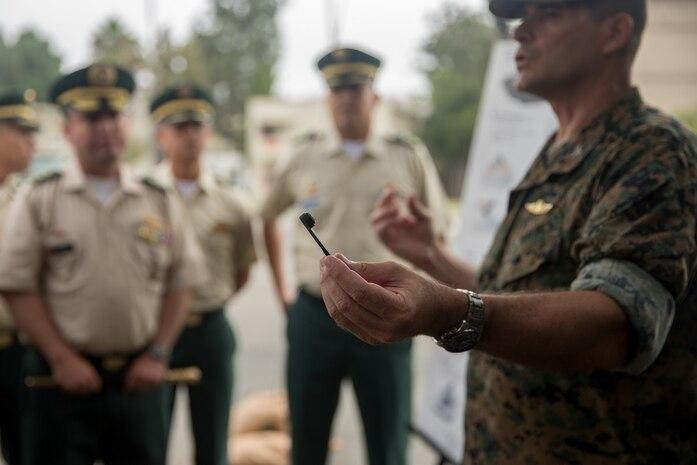 Columbian War College General Staff Course Visit