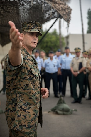 Columbian War College General Staff Course Visit