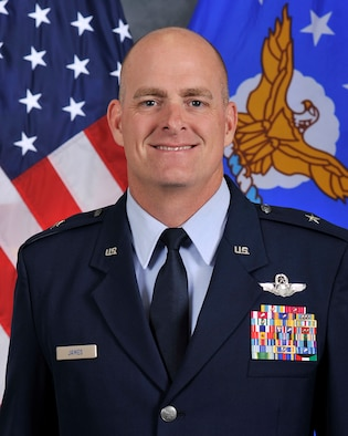 Brig. Gen. Darren James