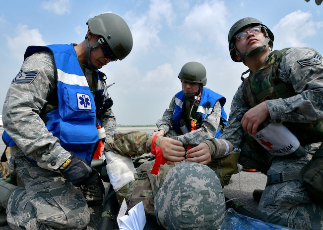 51st Medical Group Participate in Ulchi Dragon Lift