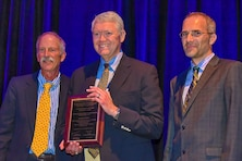 Research team receives environmental award for dredging project