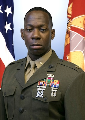 Major M. McDaniel Sharber Jr. > 1st Marine Corps District ...