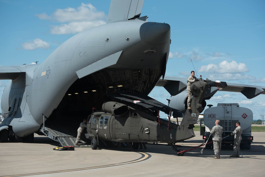 Kentucky National Guard deploys for Hurricane Irma relief