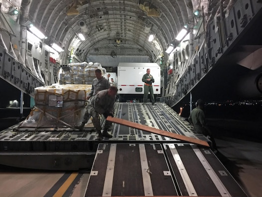 UTANG Airmen support Hurricane relief efforts
