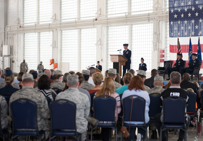 Col. Joseph D. Kunkel assumed command over the 366th Fighter Wing from Col. Jefferson J. O'Donnell.