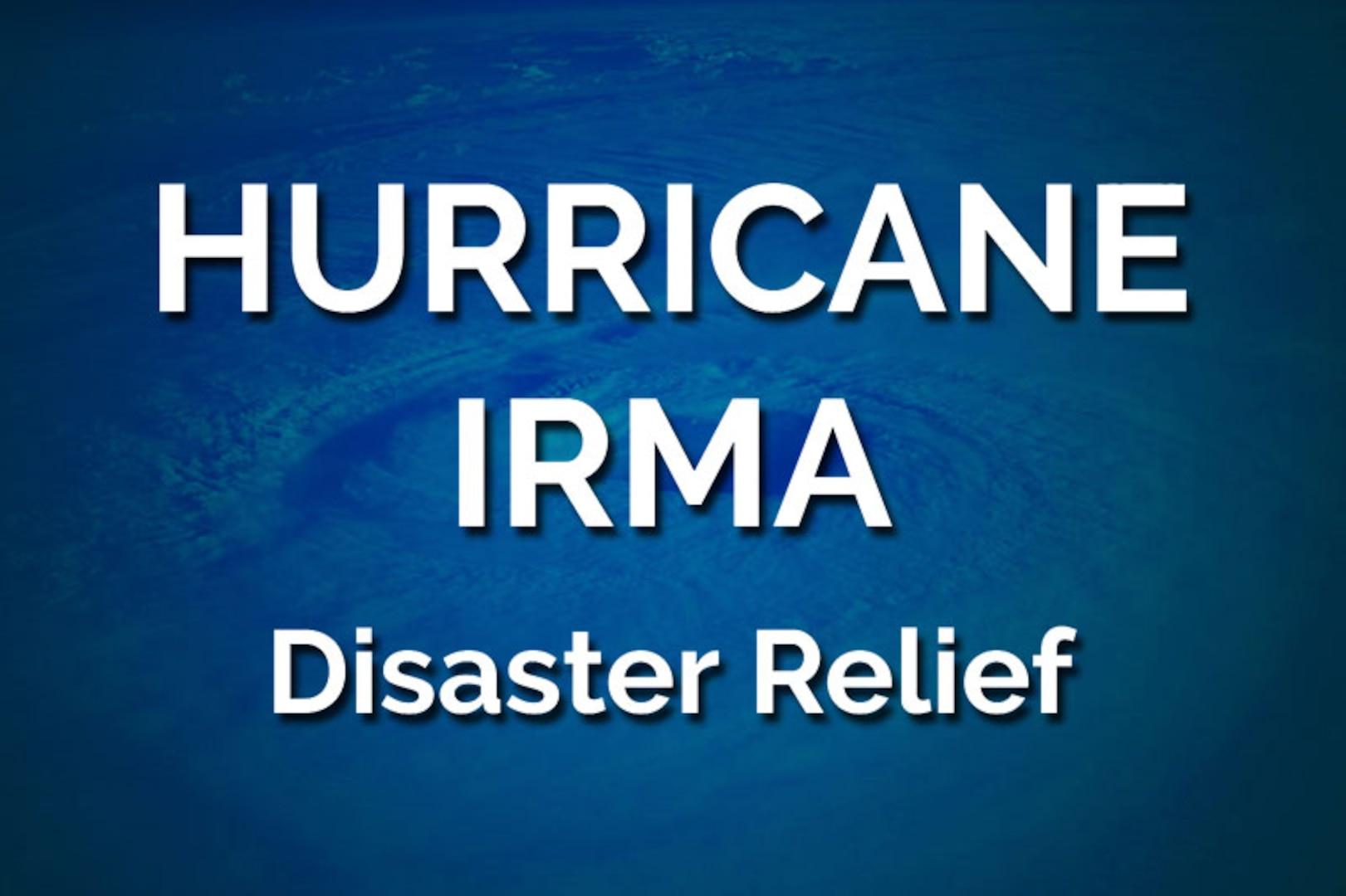 Title Graphic for Hurricane Irma