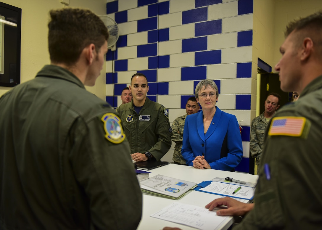 SECAF visits Team Minot