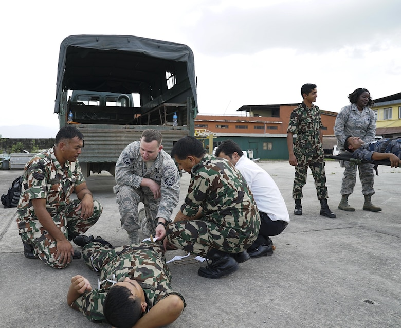 Preparing for tomorrow by building partnerships today: USAF collaborates with Nepalese on disaster response