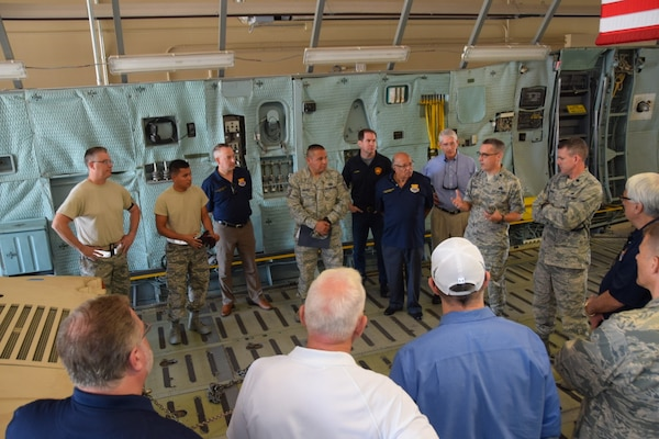 433rd Honorary Commanders visit 433rd Mission Support Group