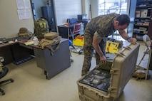 Marine Corps Reserve Units prepare for Hurricane Irma