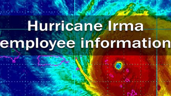 Defense Contract Management Agency employees who have been affected by Hurricane Irma can find information on agency-related issues at these links.