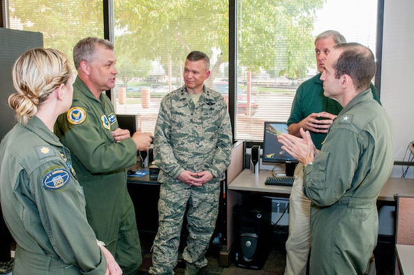 Navy Chief of Safety visits AFSEC