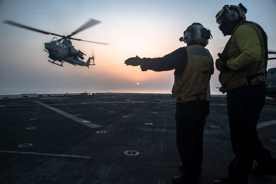 U.S. 5th Fleet area of operations