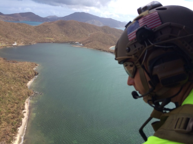 Kentucky Air Guardsmen conduct search-and-rescue missions in Virgin Islands