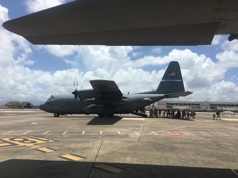 Kentucky Air Guardsmen evacuate hundreds from Virgin Islands