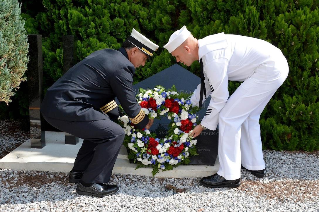 9/11 Memorial - Ronald Reagan Holds Patriot Day, POW/MIA Observance