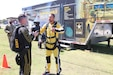 The U.S. Army Reserve held an Army Reserve Ambassador Tandem Jump Camp at McEntire Joint National Guard Base, South Carolina, Sept. 7-9, 2017. The three-day event, led by the 81st Regional Support Command invited leaders in education, business and public service to experience a tandem jump with the U.S. Army Golden Knights Parachute Team as well as learning more about the role of the Army Reserve Ambassadors in their communities and the opportunities available in the Army Reserve. (U.S. Army Reserve photo by Sgt. Christopher Osburn)