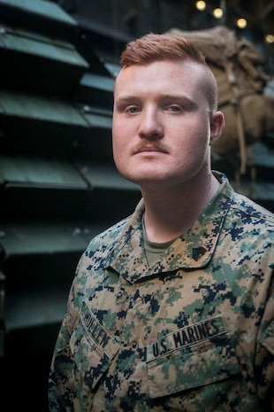 Sgt. Anthony M. Mullen, an assault amphibious vehicle recovery chief with the 31st Marine Expeditionary Unit, is a native of Ellabell, Georgia.