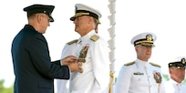 Pacific Submarine Force Holds Change of Command