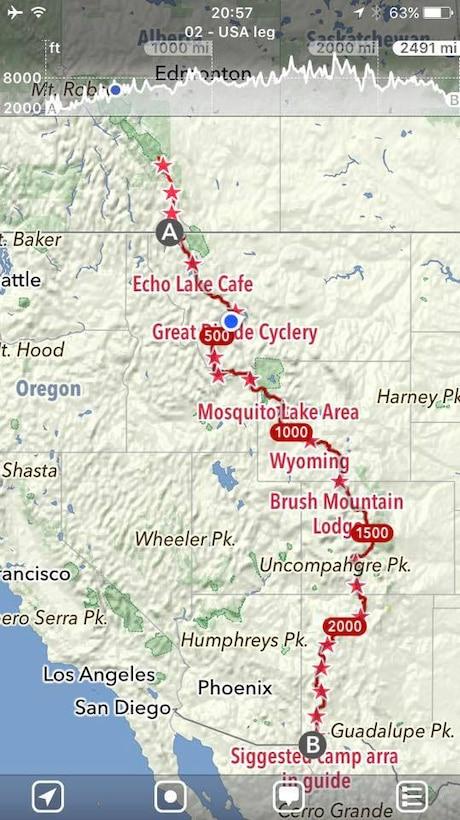 Royal Air Force Regiment bikes across North America