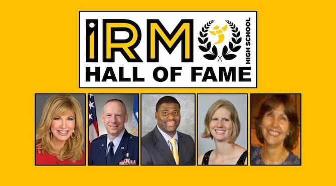 Inaugural Hall of Fame class of Irmo High School in Irmo, S.C.