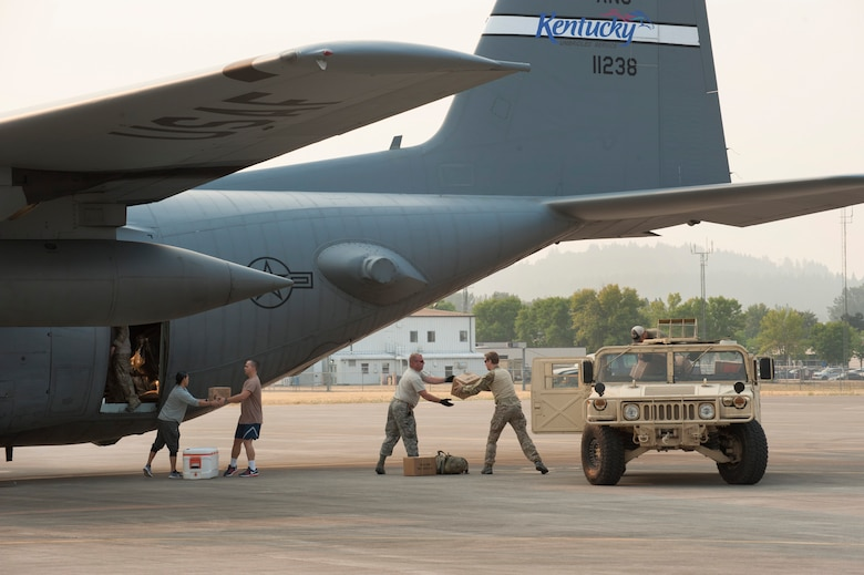 125th STS Deployment to Hurricane Relief