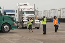Relief supplies leave Maxwell for Sunshine State