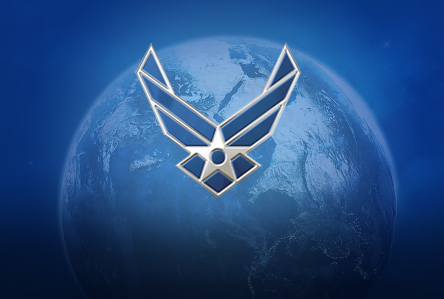 Air Force Globe Graphic