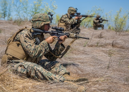 Combat engineers with Combat Service Support Company, I Marine Expeditionary Force Information Group, instruct Marines on how to use blasting caps at Camp Pendleton, Calif., Aug. 1, 2017. The Marines conducted the training to further develop their combat capabilities as part of the stand-up of the Marine Support Battalion. The mission of the new unit is to provide extensive logistical support to I MEF and I Marine Expeditionary Brigade command element, both in garrison and on deployment.