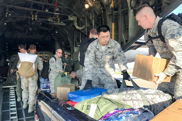 914 CES Airmen support hurricane relief efforts in Florida