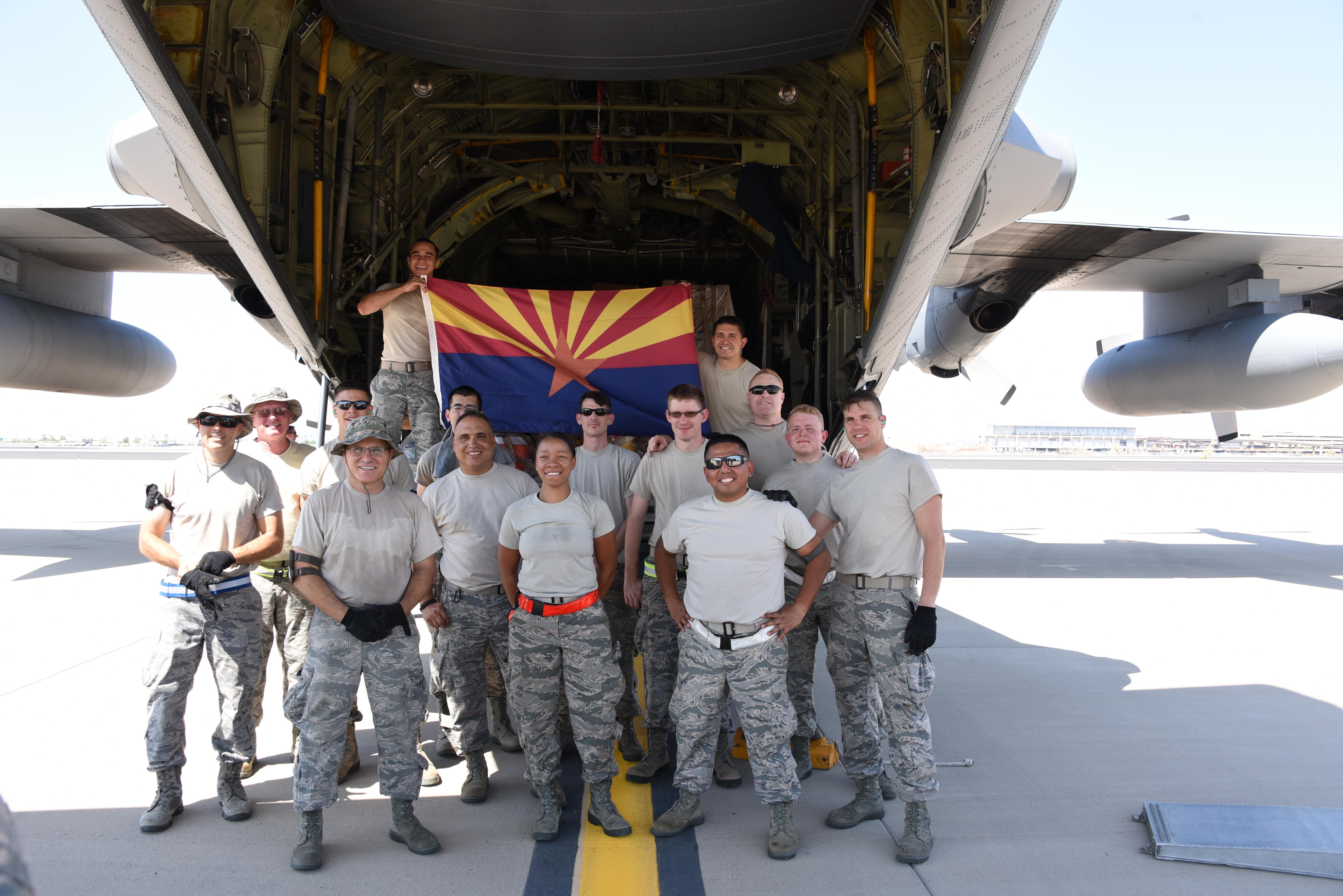 Arizona National Guard Airmen deploy for Hurricane Irma ...