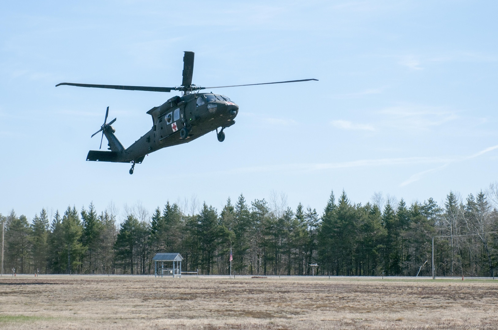 3-126th Aviation Regiment conducts medevac operations