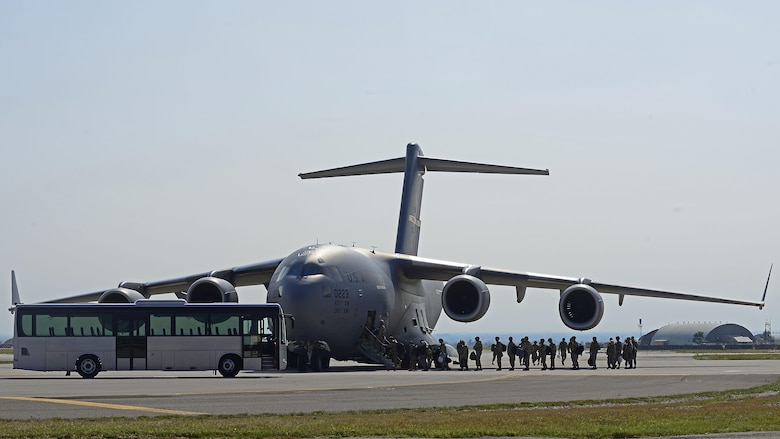 Aviano Airmen deploy to Afghanistan