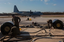 4th Marine Aircraft Wing supports search and rescue missions following Hurricane Irma