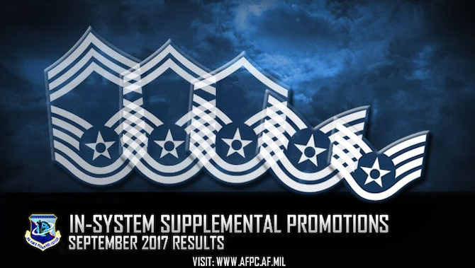 In-system supplemental promotions for September 2017