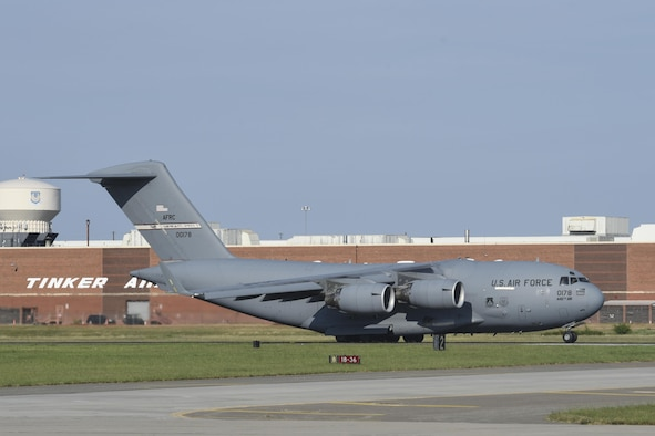 AFRC C-17A supports Hurricane Irma relief efforts