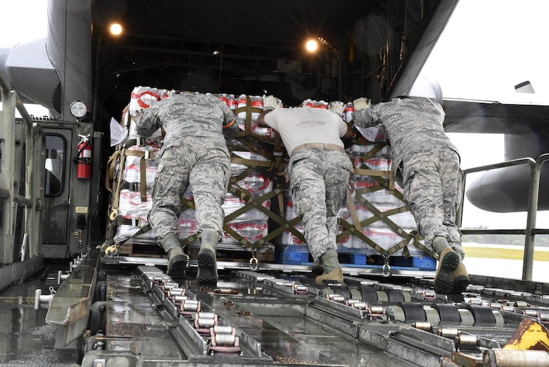 189th Airlift Wing assists with Hurricane Irma disaster relief