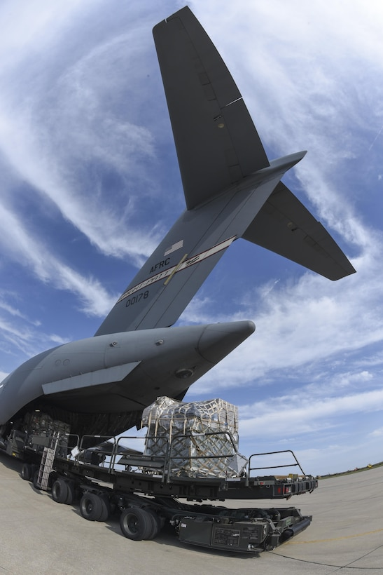 Air Force Reserve supports Hurricane Irma relief efforts