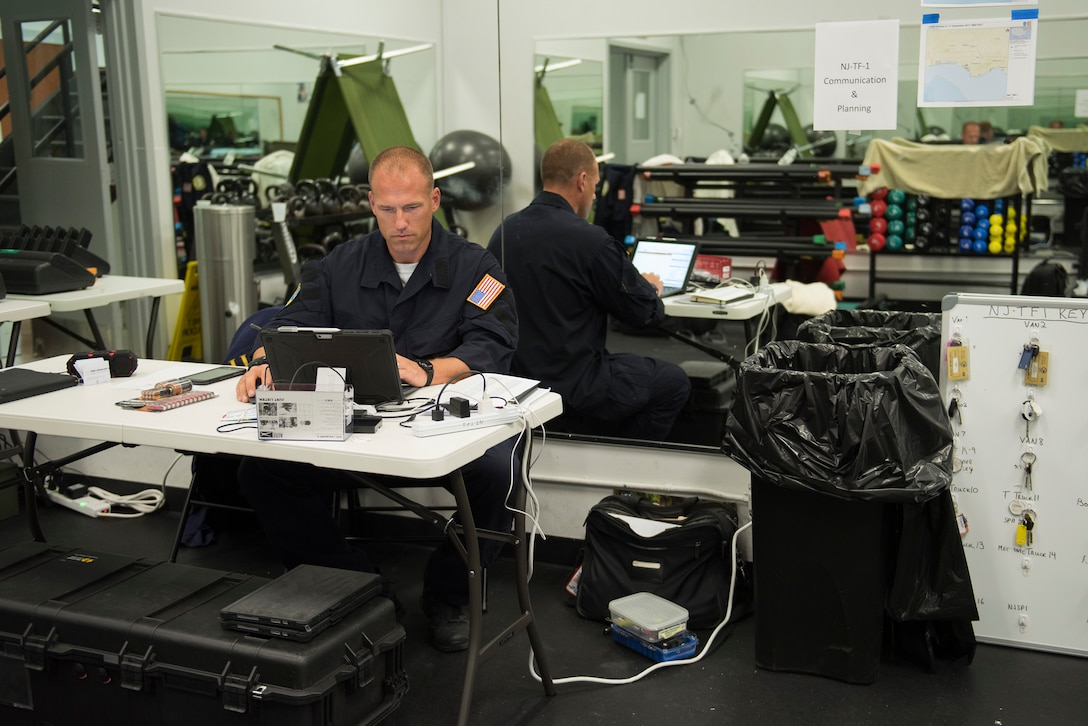 The base pitches in to help with Hurricane Irma relief efforts.