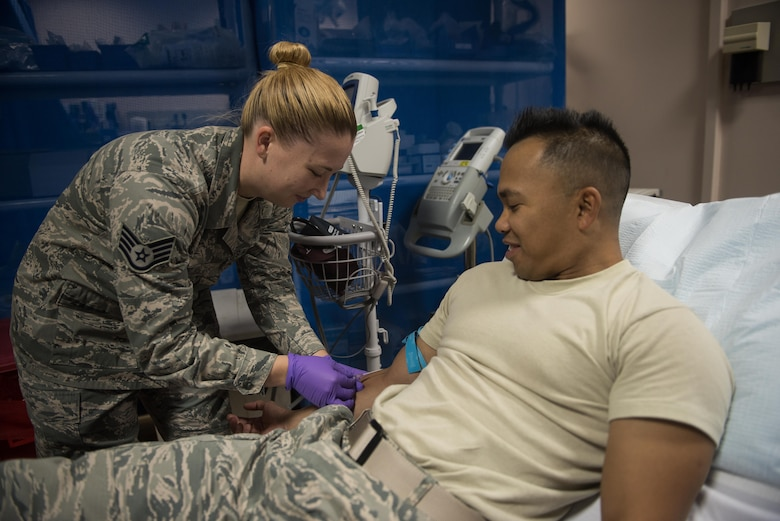 The 386th EMDG's medical control center is responsible for coordinating nine-line medevacs and aeromedical evacuations to get their patients to a higher level of care.