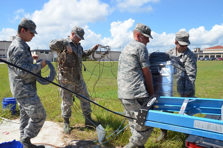 AFTAC cleans up after Hurricane Irma
