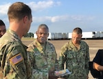 DLA Director Visits Maxwell AFB