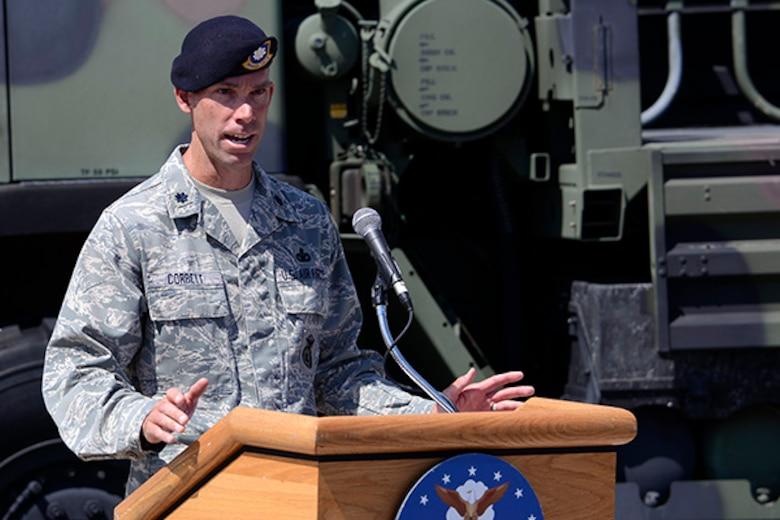 Lt. Col. Marcus Corbett
